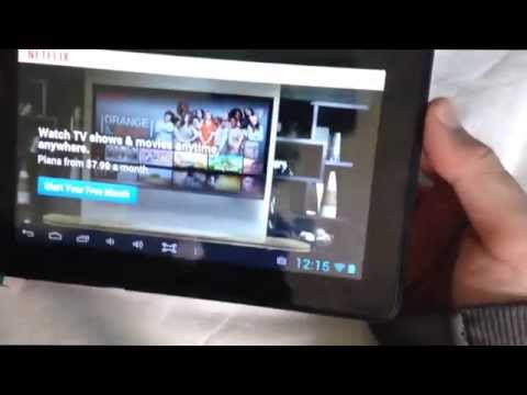"""Digital2 Pad Deluxe 7"""" 4GB Android 4.1 Tablet REVIEW"""