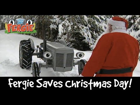 Fergie Saves Christmas Day! | Christmas 2016 | Little Grey Fergie