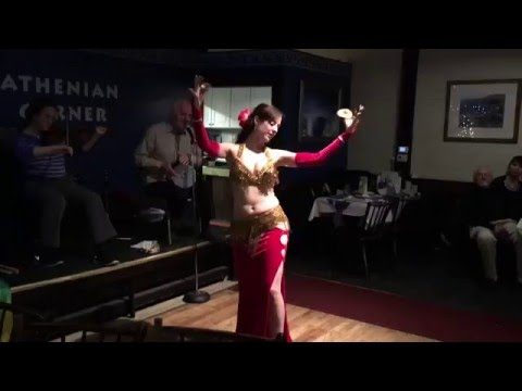 Fred Elias Ensemble and Sahina at the Athenian Corner