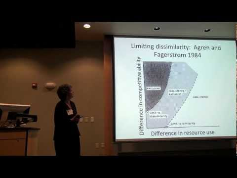Competitive abilities and niches in plant community assembly (Deborah Goldberg)
