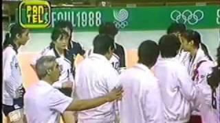 PERU VS CHINA - VOLEY OLIMPIADAS SEUL 1988 - parte 2