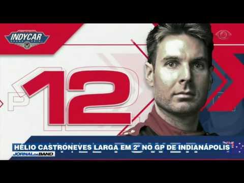Fórmula Indy: Castroneves larga em segundo