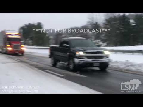 12-9-18 Roanoke, VA - Numerous Accidents on I81