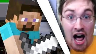 Minecraft Steve but MY BIGGEST REACTION EVER