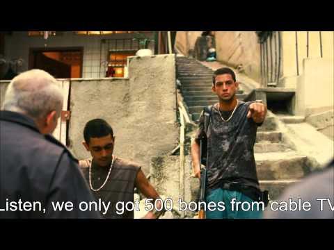 Rocha In The Favela - Marcinho Dies (Tropa De Elite 2, Elite Squad 2) Scene - HQ/HD