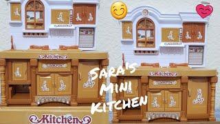 Exploring Mini Kitchen   kids cooking   kids kitchen set 😉😊