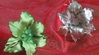 Цветы из ткани своими руками. Лилия на шпильке (1 часть вступление)