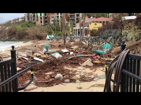 After Hurricane Irma Maria St. Thomas USVI September 30th 2017