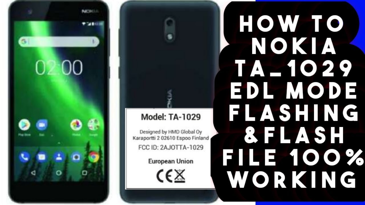 Nokia 2 Flash File