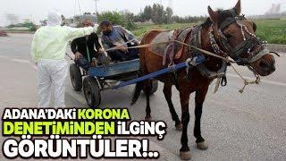 Koronavirüs Uygulamasında At Arabası Sürprizi