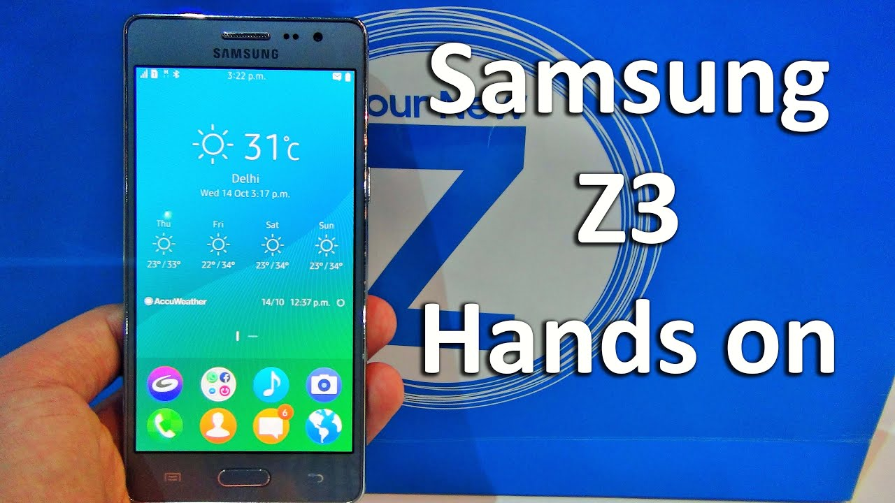 Samsung Z3 Review Hands On