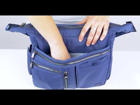 Lug Double Dutch CrossBody Tote Bag at Readi Set Go - YouTube 1ff1fb57b92ed