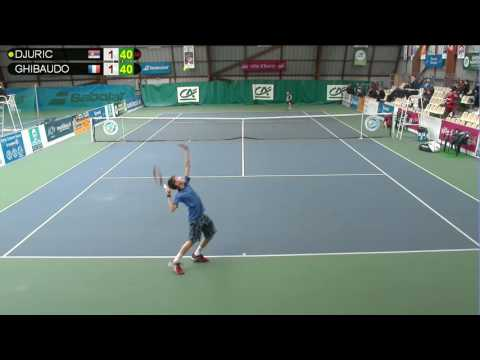 DJURIC (SRB) vs GHIBAUDO (FRA) - Open Super 12 Auray Tennis - Court 4