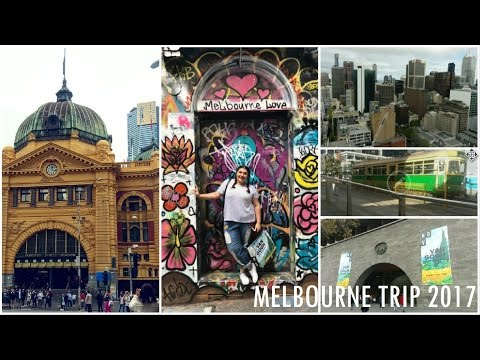 OUR MELBOURNE TRIP // APRIL 2017