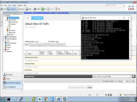 Cisco SourceFire -  Web policies - Web filter