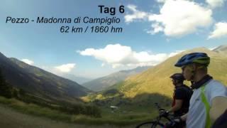 Transalp  Alpen X Albrecht Trail Route V2 MTB GoPro Teil 2
