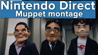All of the excellent puppet bits from Nintendo Direct (E3 2015)