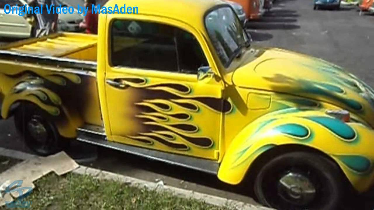 VOLKSWAGEN Beetle \'71 Pickup Truck Modification - YouTube