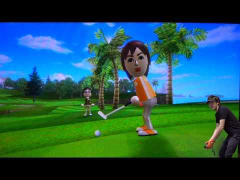 【ゴルフ同好会】ゴルフ場へ行けないのでWiiでゴルフバトルです