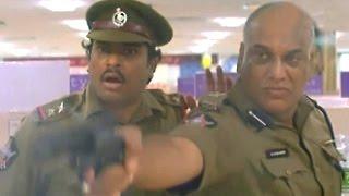 Ahuti Prasad Scenes - Ahuti Prasad As Police Commisner Getup