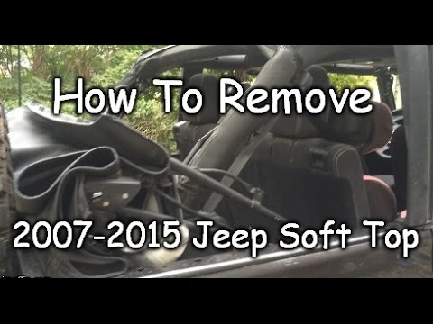 Easy How To Remove Jeep Jk Soft Top Completely 2007