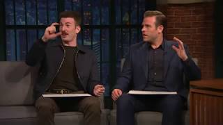 chris and scott evans being dorks