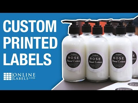 Custom Printed Labels & Stickers - OnlineLabels com