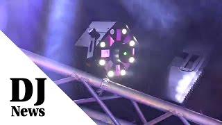 ADJ Stinger Moonflower Strobe Laser LED Light: By Jon Young of the Disc Jockey News