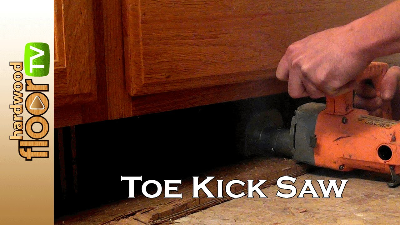 Toe Kick Saw - Also Called Flush Cut