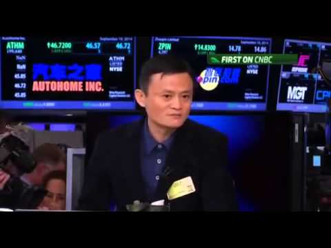 billionaire Jack Ma on Alibaba's IPO success