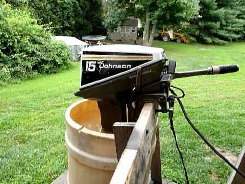 1975 Johnson 15hp Youtube