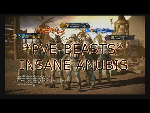 Warface - INSANE ANUBIS *PVE-BEASTS* RIFLEMAN GAMEPLAY
