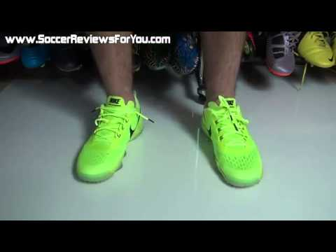 a6087530fe2 Nike Zoom Hypercross Trainer Volt Black Review On Feet - YouTube