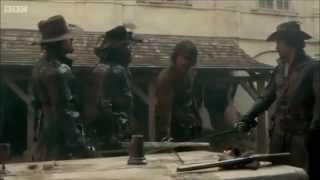 The Musketeers Sexy Aramis, Naughty Porthos, Bitchy Athos