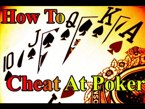 Literally Cheat at Poker without any fast dealing moves (Sta
