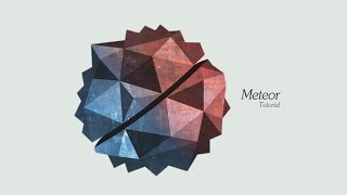 Graphic Design | Meteor | Adobe Illustrator/Photoshop