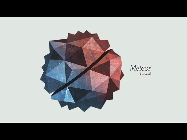 Graphic Design | Meteor | Adobe Illustrator/Photoshop