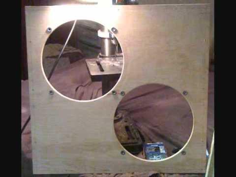 2 x 12 diy guitar speaker cab cabinet birch cab tonker youtube. Black Bedroom Furniture Sets. Home Design Ideas