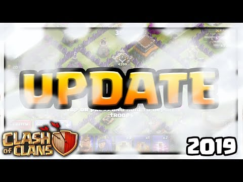 CLOUDS TO BE FIXED! Clash of Clans UPDATE Information... 2019