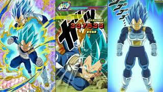 Dokkan Battle Beating Evolution Vegeta in 4 Turns!