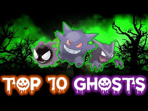 Download Youtube: TOP 10 BEST GHOST TYPE POKÉMON