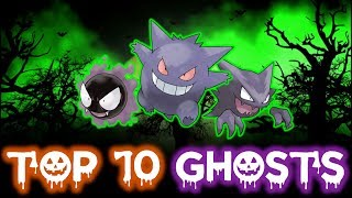 Download Video TOP 10 BEST GHOST TYPE POKÉMON MP3 3GP MP4