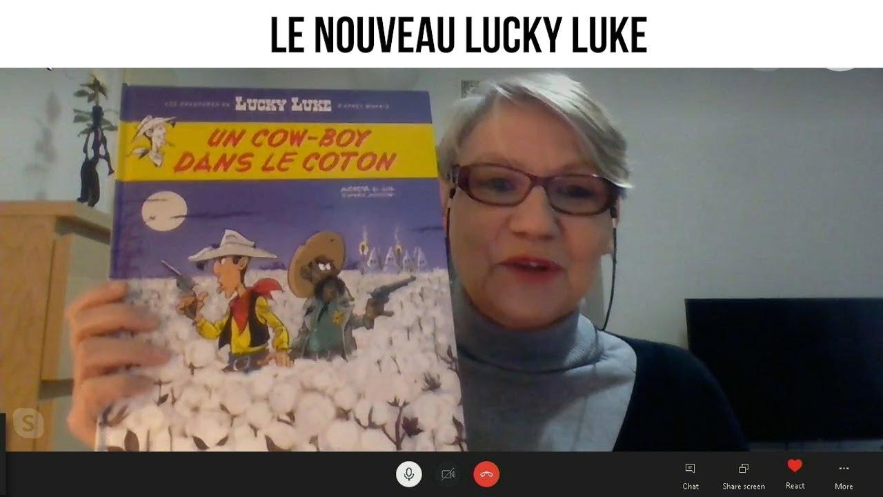 Le nouveau Lucky Luke - Le Sepher du Libraire#87