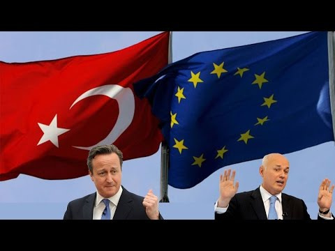 PM makes statement on EU Council migrant deal with Turkey, but adds Budget and IDS into it