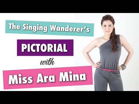 PICTORIAL WITH MISS ARA MINA