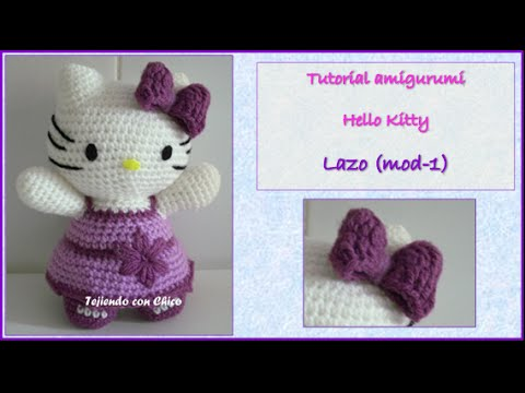 🎀HELLO KITTY AMIGURUMI🎀 - INTERMEDIO - CROCHET - GANCHILLO ... | 360x480