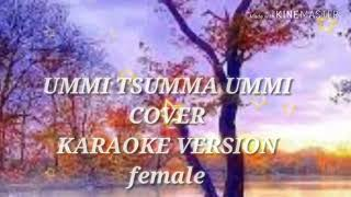 Ummi-karaoke(piano cover) -female