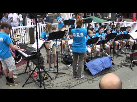 West Valley Middle School Jazz Band 2013 Song4
