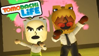 Tomodachi Life 3DS Zelda Skate Trick, PokeRap Group Song Mii Gameplay Walkthrough PART 16 Nintendo