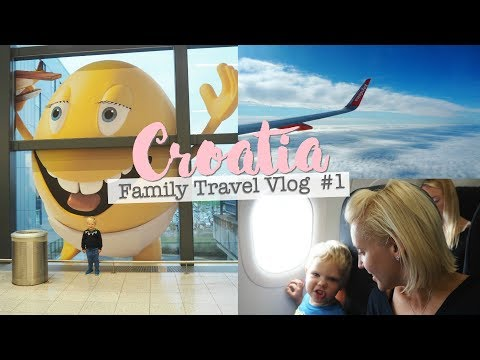Croatia #1 - Travelling and Villa Tour - Family Travel Vlog